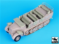Black Dog T35073 - Sd.Kfz 7 Accessories Set