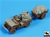 Black Dog T35098 - US Jeep Airborne After Drop Accessories Set