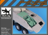 Black Dog T35209 - Engine LAV 25