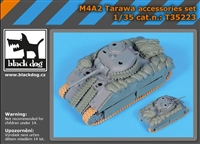 Black Dog T35223 - M4A2 Tarawa Accessories Set