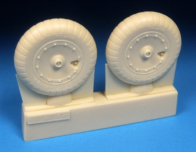 Barracuda BR32358 - Fw 190A-6 thru A-9, F, D Mainwheels - Ribbed