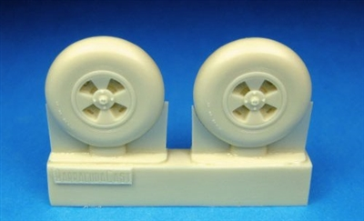 Barracuda BR48150 - Hawker Tempest Mainwheels (Smooth Tread)