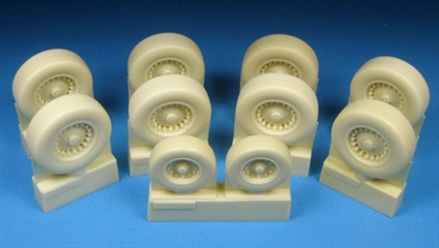 Barracuda BR48238 - B-1B Main and Nose Wheel Set