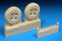 Barracuda BR48344 - Sea Fury Mainwheels - Block Tread