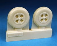 Barracuda BR48404 - Hawker Tempest Late Mainwheels - Block Tread