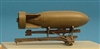 Brengun BRL48004 - British 500 lb Bomb with Rack for Spitfire