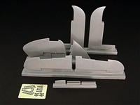 Brengun BRL48017 - Beaufighter Mk IV+X Control Surfaces (fits Tamiya kit)