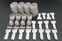Brengun BRL48125 - C-130 E-H Engine Set (Italeri kit)
