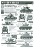 "Bison Decals 35084 - US M4A3(76) and M4A3E8 ""Easy Eight"""