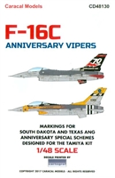 Caracal CD48130 - F-16C Anniversary Vipers
