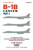 Caracal CD48144 - B-1B Lancer, Part 2
