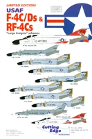 Cutting Edge CED48013 - USAF F-4C/Ds & RF-4Cs