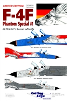 Cutting Edge CED48041 - F-4F Phantom Special #1
