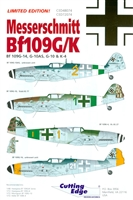Cutting Edge CED48074 - Messerschmitt Bf 109G/K