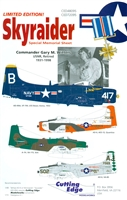 Cutting Edge CED48095 - Skyraider, Special Memorial Sheet
