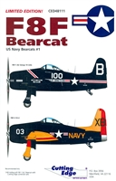 Cutting Edge CED48111 - F8F Bearcat (US Navy Bearcats #1)