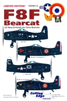 Cutting Edge CED48112 - F8F Bearcat (US Navy & French Air Force Bearcats)
