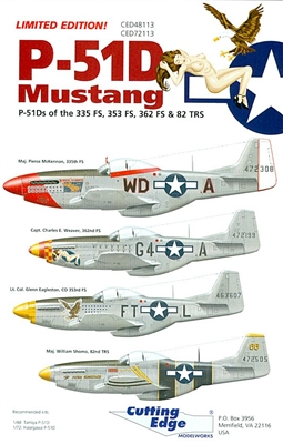 Cutting Edge CED48113 - P-51D Mustang