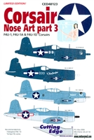 Cutting Edge CED48123 - Corsair Nose Art, Part 3