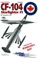 Cutting Edge CED48137 - CF-104 Starfighter #1
