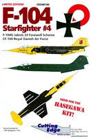 Cutting Edge CED48140 - F-104 Starfighter #4