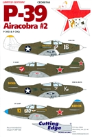 Cutting Edge CED48144 - P-39 Airacobra #2