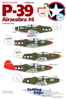 Cutting Edge CED48146 - P-39 Airacobra #4