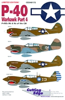 Cutting Edge CED48172 - P-40 Warhawk Part 4