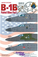 Cutting Edge CED48176 - B-1B Painted BOnes, Part 1