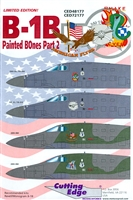 Cutting Edge CED48177 - B-1B Painted BOnes, Part 2