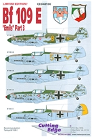 "Cutting Edge CED48190 - Bf 109E ""Emils"" Part 3"