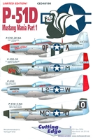 Cutting Edge CED48198 - P-51D Mustang Mania, Part 1