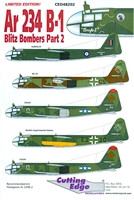 Cutting Edge CED48202 - Ar 234 B-1 Blitz Bombers, Part 2