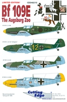 Cutting Edge CED48215 - Bf 109E The Augsburg Zoo