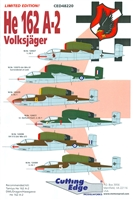 Cutting Edge CED48220 - He 162 A-2 Volksjager