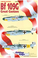 Cutting Edge CED48234 - Bf 109G Great Gustavs