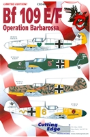 Cutting Edge CED48243 - Bf 109 E/F Operation Barbarossa