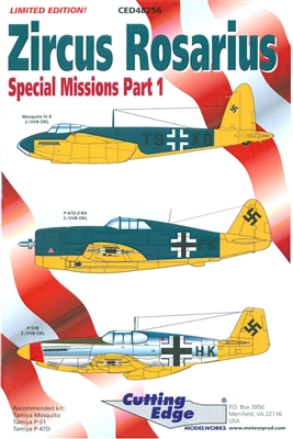 Cutting Edge CED48256 - Zircus Rosarius, Special Missions Part 1