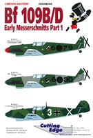 Cutting Edge CED48264 - Bf 109B/D Early Messerschmitts, Part 1