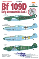Cutting Edge CED48265 - Bf 109D Early Messerschmitts Part 2