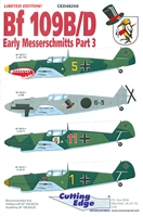 Cutting Edge CED48266 - Bf 109B/D Early Messerschmitts Part 3