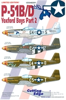Cutting Edge CED48281 - P-51B/D Yoxford Boys, Part 2