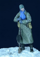 D-Day 35004 - SS Grenadier with Degtaryev MG, Eastern Front, Winter 1943-45