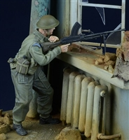 D-Day 35019 - British / Commonwealth Bren Gunner in Action, 1943-45