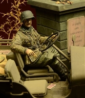 D-Day 35028 - Waffen SS Jeep Driver, Ardennes 1944