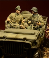 D-Day 35030 - Waffen SS Jeep Crew, Ardennes 1944
