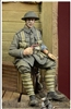 D-Day 35034 - WWI British Infantryman Sitting on a Case