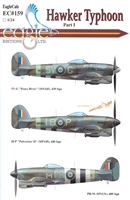 EagleCals EC#24-159 - Hawker Typhoon, Part I