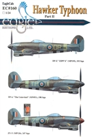 EagleCals EC#24-160 - Hawker Typhoon, Part II