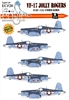 EagleCals EC#32-020 - VF-17 Jolly Rogers, F4U-1A Corsairs